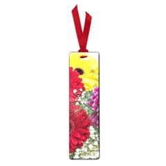 Flowers Gerbera Floral Spring Small Book Marks by Nexatart