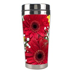 Flowers Gerbera Floral Spring Stainless Steel Travel Tumblers by Nexatart