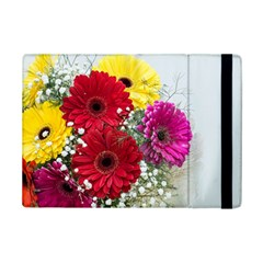 Flowers Gerbera Floral Spring Ipad Mini 2 Flip Cases by Nexatart