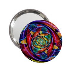 Eye Of The Rainbow 2 25  Handbag Mirrors