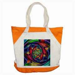 Eye Of The Rainbow Accent Tote Bag