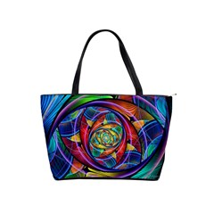 Eye Of The Rainbow Shoulder Handbags