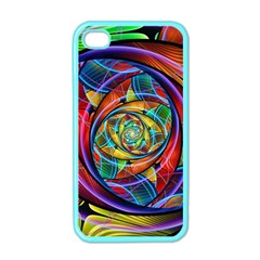Eye Of The Rainbow Apple Iphone 4 Case (color)