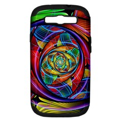 Eye Of The Rainbow Samsung Galaxy S Iii Hardshell Case (pc+silicone)
