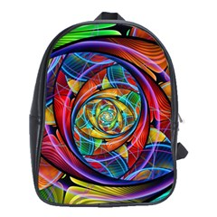 Eye Of The Rainbow School Bags (xl)