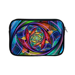Eye Of The Rainbow Apple Ipad Mini Zipper Cases by WolfepawFractals