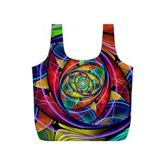 Eye Of The Rainbow Full Print Recycle Bags (s)