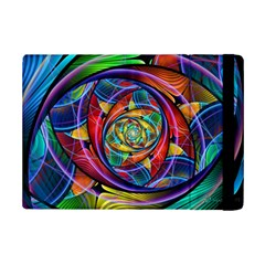 Eye Of The Rainbow Ipad Mini 2 Flip Cases by WolfepawFractals