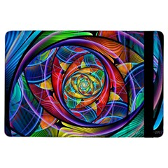 Eye Of The Rainbow Ipad Air Flip by WolfepawFractals