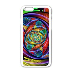 Eye Of The Rainbow Apple Iphone 6/6s White Enamel Case