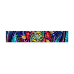 Eye Of The Rainbow Flano Scarf (mini)