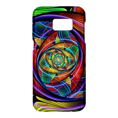 Eye Of The Rainbow Samsung Galaxy S7 Hardshell Case