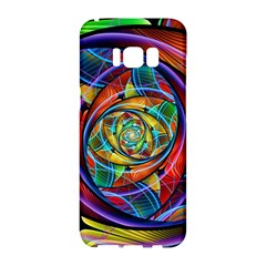Eye Of The Rainbow Samsung Galaxy S8 Hardshell Case  by WolfepawFractals