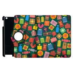 Presents Gifts Background Colorful Apple Ipad 2 Flip 360 Case by Nexatart