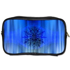 Background Christmas Star Toiletries Bags 2 Side by Nexatart