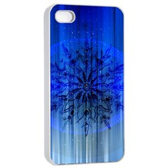 Background Christmas Star Apple Iphone 4/4s Seamless Case (white) by Nexatart