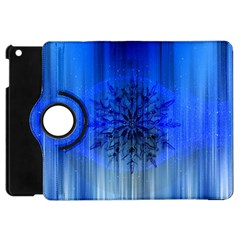 Background Christmas Star Apple Ipad Mini Flip 360 Case by Nexatart