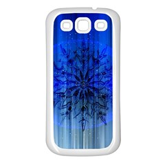 Background Christmas Star Samsung Galaxy S3 Back Case (white) by Nexatart