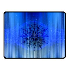 Background Christmas Star Double Sided Fleece Blanket (small)  by Nexatart