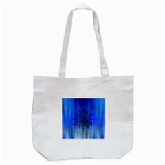 Background Christmas Star Tote Bag (white)