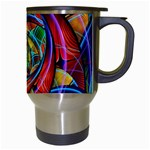 Eye of the Rainbow Travel Mugs (White) Right