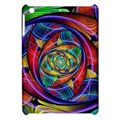 Eye Of The Rainbow Apple Ipad Mini Hardshell Case by WolfepawFractals