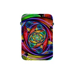 Eye Of The Rainbow Apple Ipad Mini Protective Soft Cases by WolfepawFractals