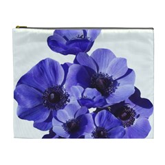 Poppy Blossom Bloom Summer Cosmetic Bag (xl) by Nexatart