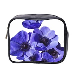 Poppy Blossom Bloom Summer Mini Toiletries Bag 2-side