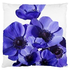 Poppy Blossom Bloom Summer Large Cushion Case (two Sides)