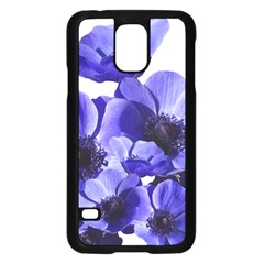 Poppy Blossom Bloom Summer Samsung Galaxy S5 Case (black)