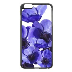 Poppy Blossom Bloom Summer Apple Iphone 6 Plus/6s Plus Black Enamel Case by Nexatart