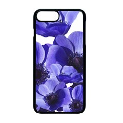 Poppy Blossom Bloom Summer Apple Iphone 7 Plus Seamless Case (black)