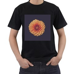 Art Beautiful Bloom Blossom Bright Men s T Shirt (black) (two Sided)