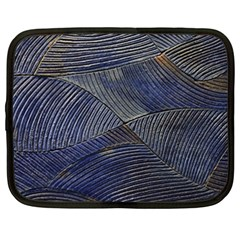 Textures Sea Blue Water Ocean Netbook Case (xxl)  by Nexatart