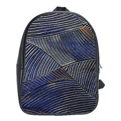 Textures Sea Blue Water Ocean School Bags (xl)