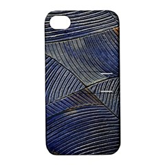 Textures Sea Blue Water Ocean Apple Iphone 4/4s Hardshell Case With Stand by Nexatart