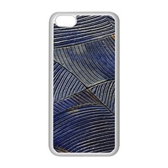 Textures Sea Blue Water Ocean Apple Iphone 5c Seamless Case (white) by Nexatart