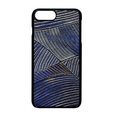 Textures Sea Blue Water Ocean Apple Iphone 7 Plus Seamless Case (black)