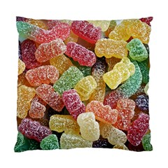 Jelly Beans Candy Sour Sweet Standard Cushion Case (one Side) by Nexatart