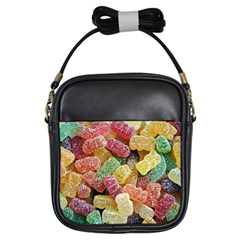Jelly Beans Candy Sour Sweet Girls Sling Bags by Nexatart