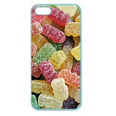 Jelly Beans Candy Sour Sweet Apple Seamless Iphone 5 Case (color) by Nexatart