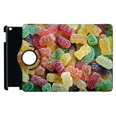 Jelly Beans Candy Sour Sweet Apple Ipad 2 Flip 360 Case by Nexatart