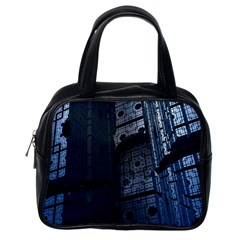 Graphic Design Background Classic Handbags (one Side) by Nexatart