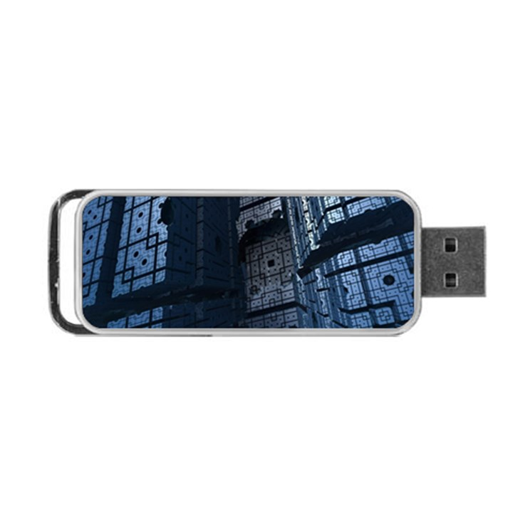 Graphic Design Background Portable USB Flash (Two Sides)
