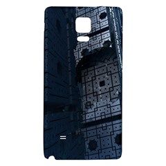 Graphic Design Background Galaxy Note 4 Back Case by Nexatart