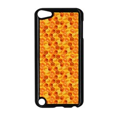 Honeycomb Pattern Honey Background Apple Ipod Touch 5 Case (black)