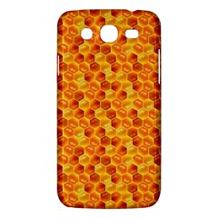Honeycomb Pattern Honey Background Samsung Galaxy Mega 5 8 I9152 Hardshell Case  by Nexatart