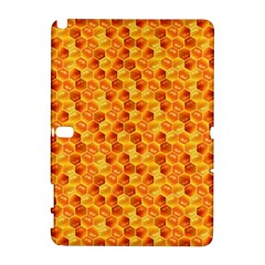 Honeycomb Pattern Honey Background Galaxy Note 1