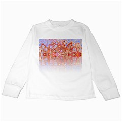 Effect Isolated Graphic Kids Long Sleeve T Shirts